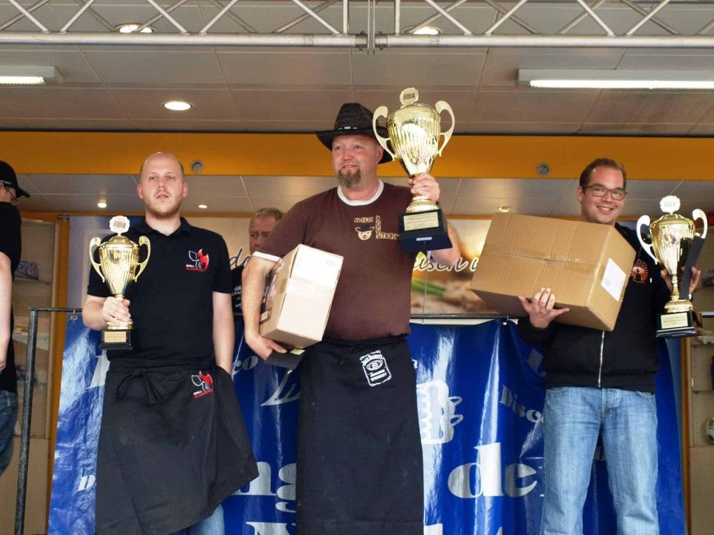 NRW Grillmeisterschaft 2015 - Siegerfoto