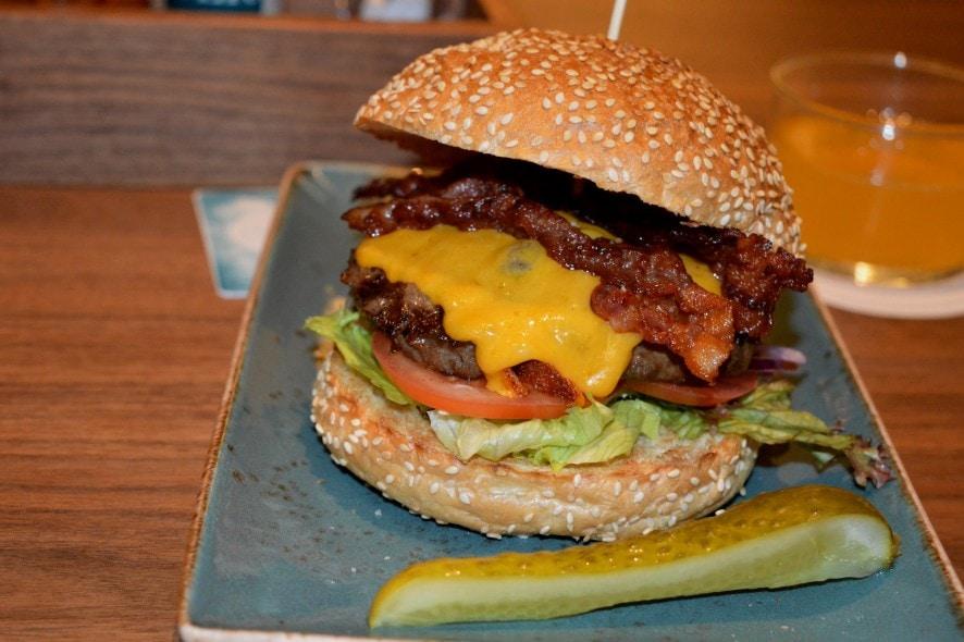 Butch Becker in Düsseldorf - Burger