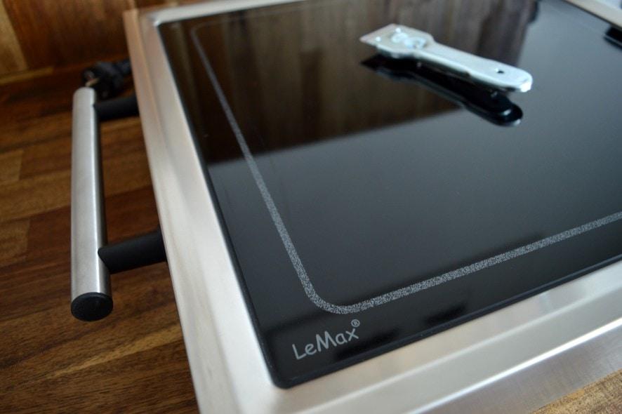 lemax grillplatte im test bacon zum steak. Black Bedroom Furniture Sets. Home Design Ideas