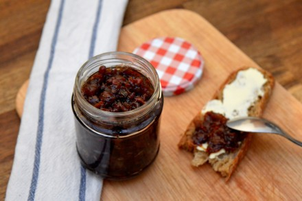 Bacon Jam mit Preiselbeeren