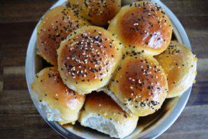Meine perfekten Burgerbrötchen Hamburgerbrötchen Buns