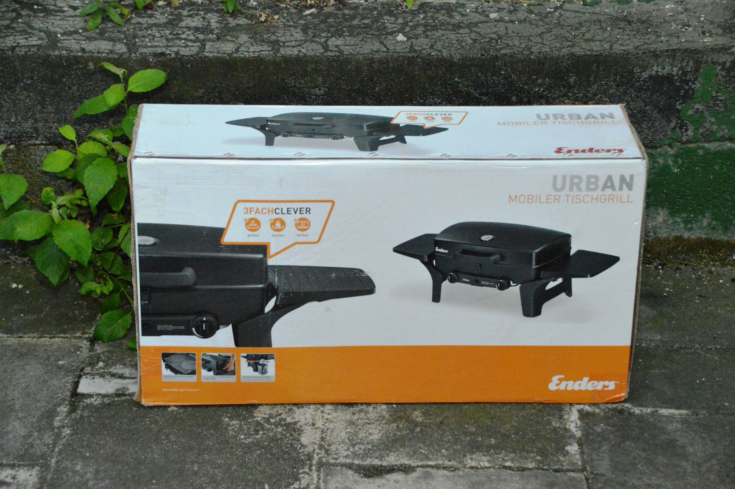 Enders Urban Gasgrill 3 In 1 : Angegrillt enders urban im test bacon zum steak