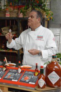Tabasco Markenbotschafter Gary Evans