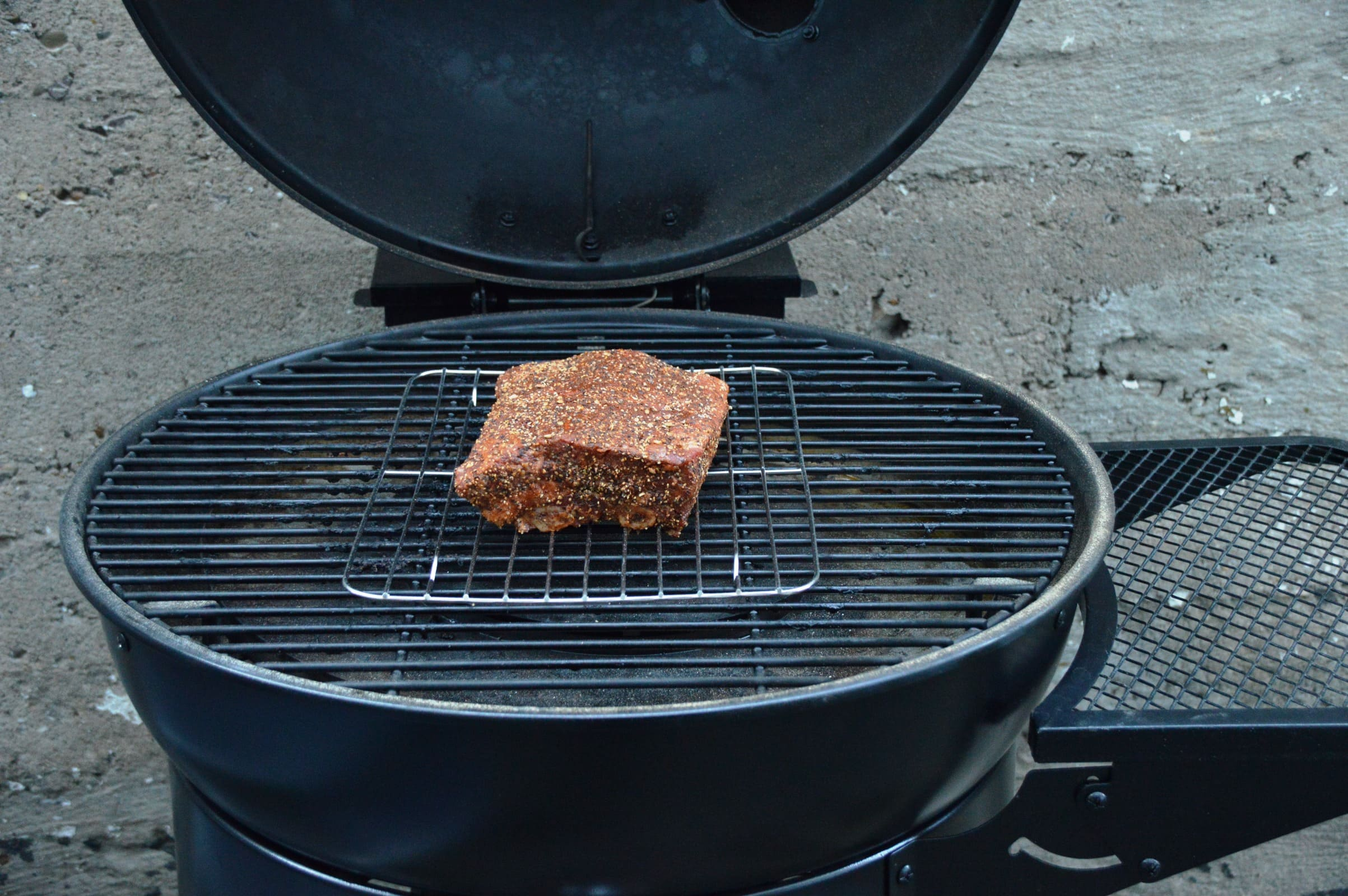 Landmann Gasgrill Wok : Angegrillt: landmann pellet kettle im test bacon zum steak
