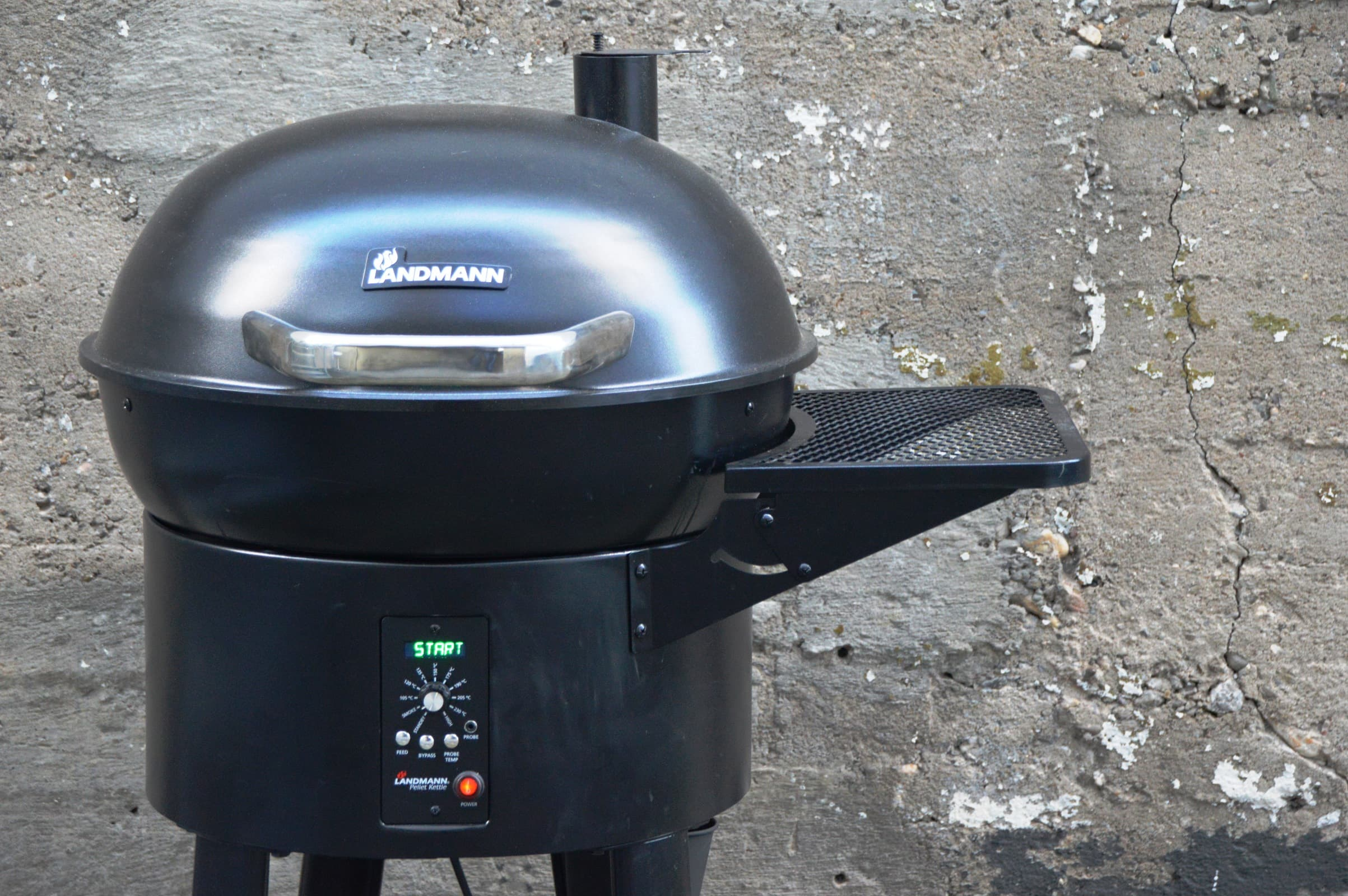 Landmann Gasgrill Hamburg : Angegrillt landmann pellet kettle im test bacon zum steak