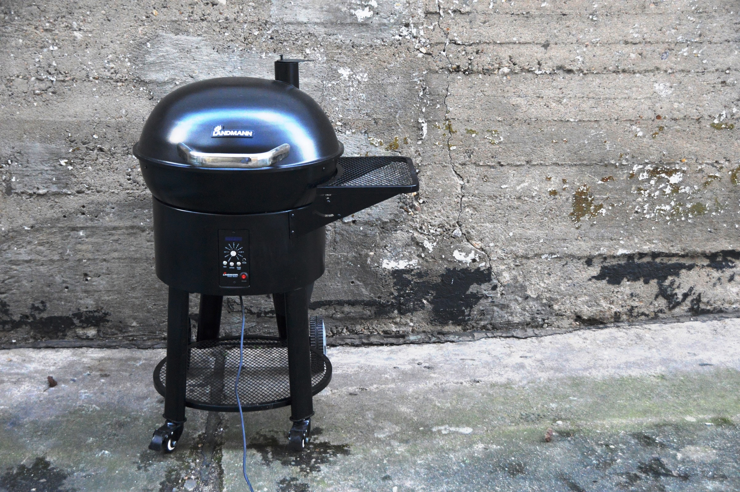 Landmann Gasgrill Test : Angegrillt: landmann pellet kettle im test bacon zum steak