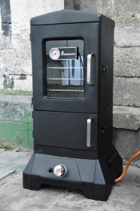Landmann Gas Räucherofen - Vertical Smoker
