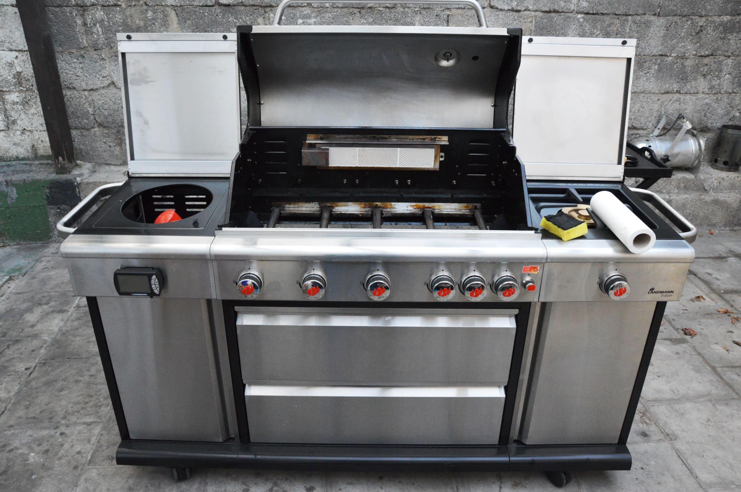 Landmann Gasgrill Fettauffangschale : Die richtige grillreinigung zum saisonstart bacon zum steak