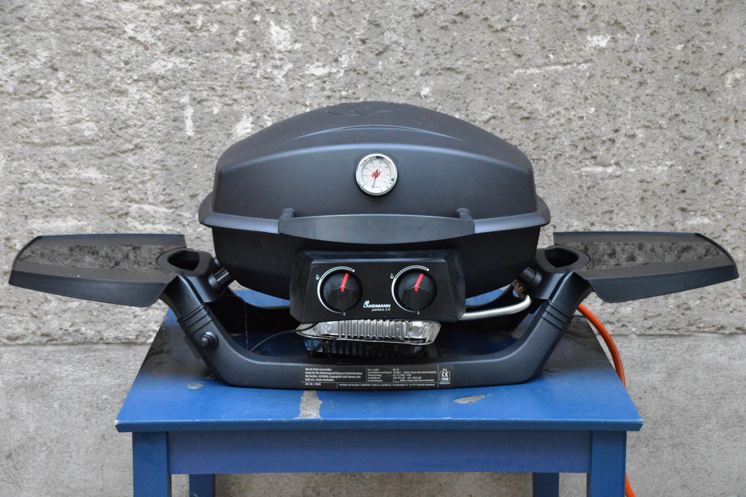 Landmann Gasgrill Test : Angegrillt: landmann pantera 2.0 im test bacon zum steak