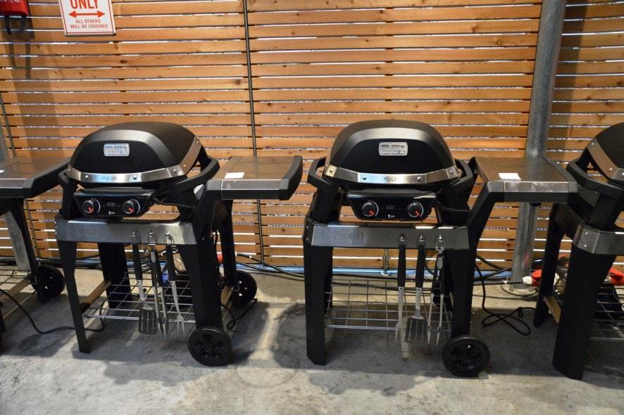 vorstellung des weber pulse elektrogrills bacon zum steak. Black Bedroom Furniture Sets. Home Design Ideas