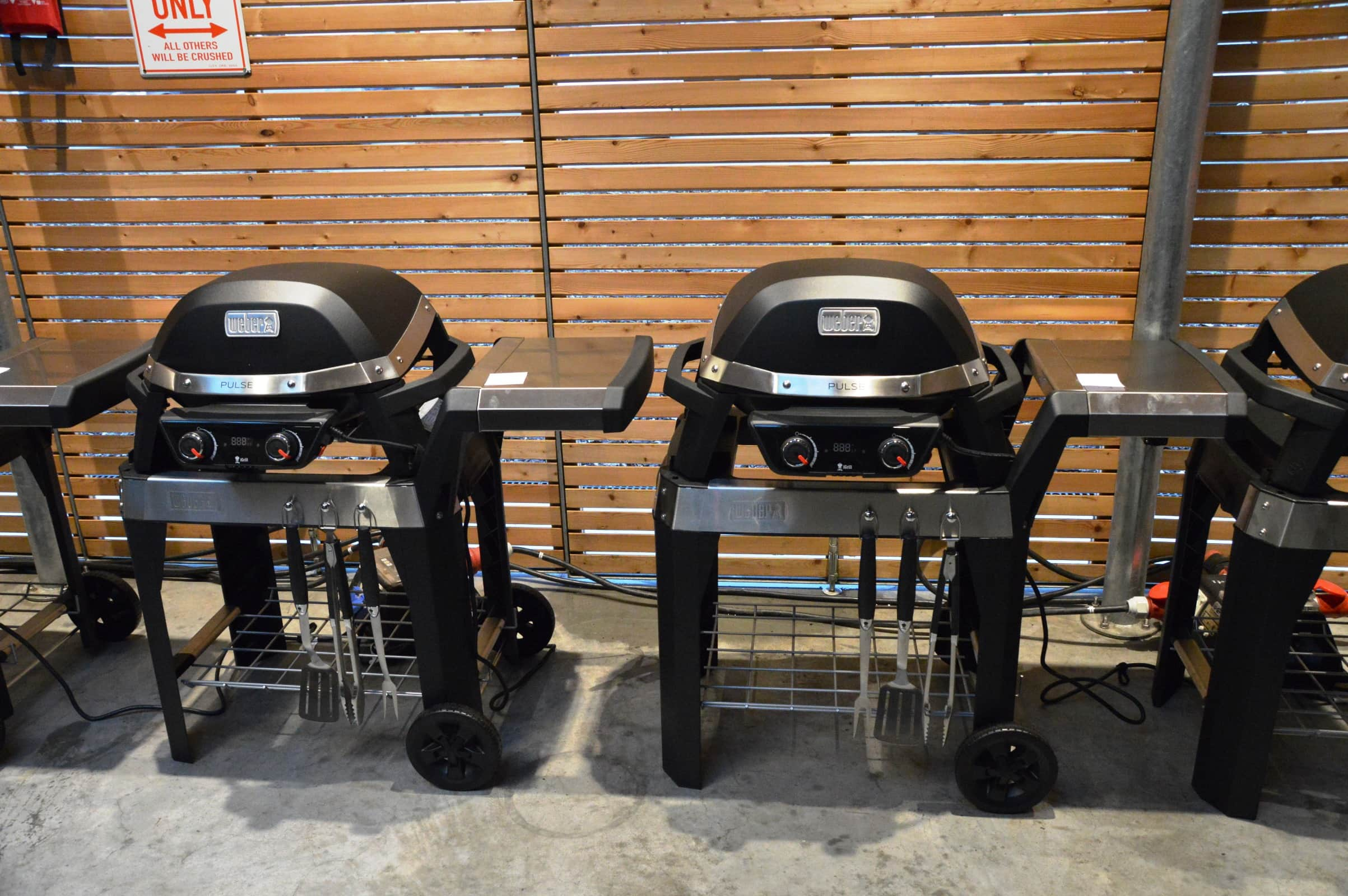 Weber Elektrogrill Pulse : Vorstellung des weber pulse elektrogrills bacon zum steak