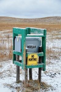 Briefkasten der Morgan Ranch