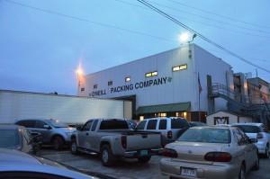 O'Neil Packing Plant - Zerlegebetrieb in der Morgendämmerung