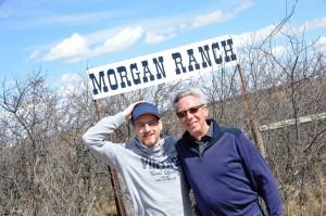Ankunft an der Morgan Ranch