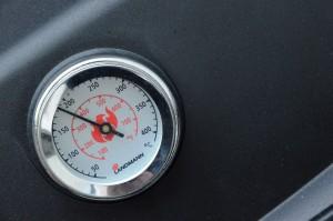 Bratenstück indirekt grillen bei ca. 180 °C