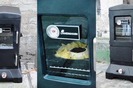 Angegrillt: Landmann Gas-Räucherofen im Test