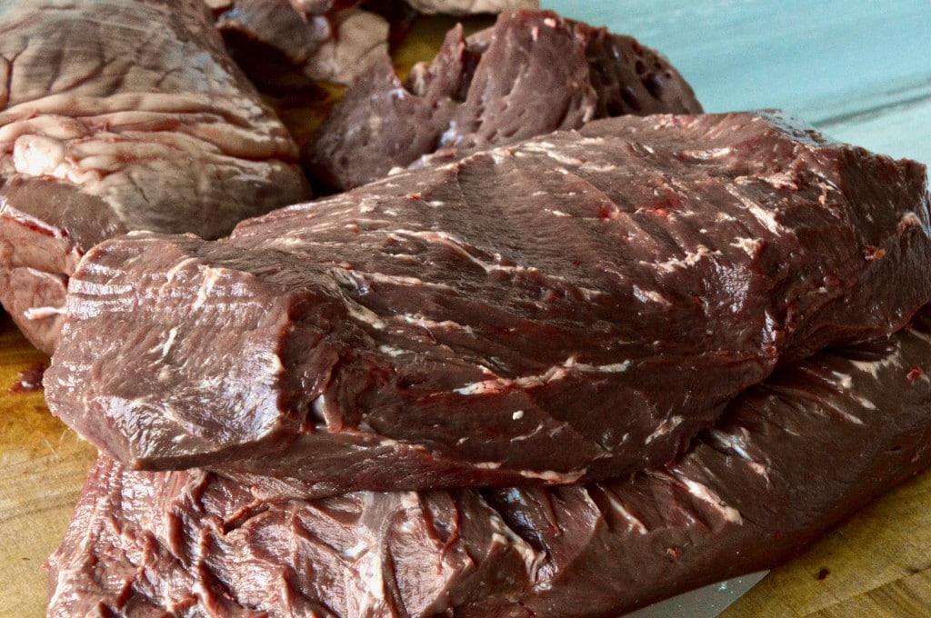 Rinderherz-Pastrami - Parierte Rinderherzen