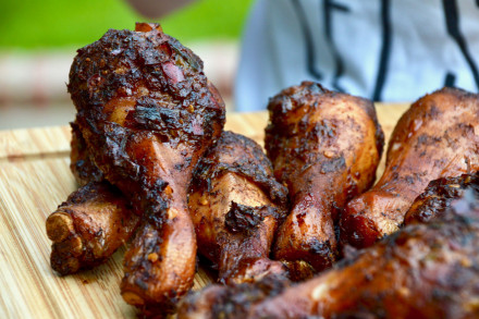 Rezept für authentisches Jamaican Jerk Chicken vom Grill