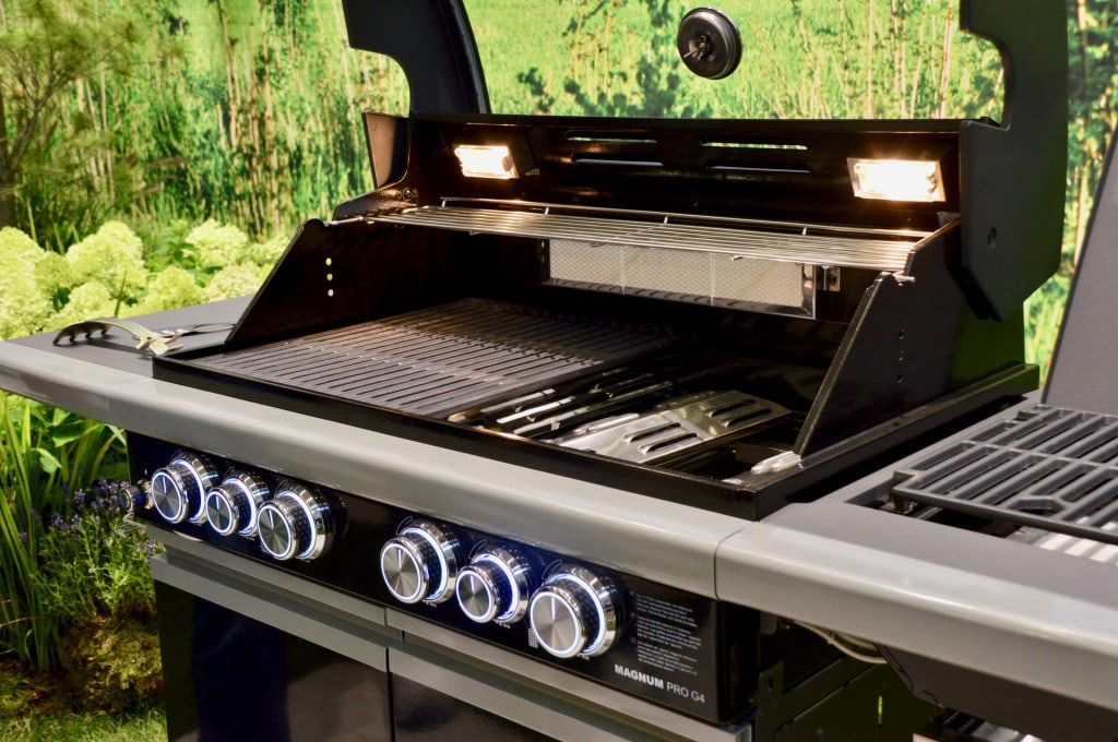 Spoga 2019 - Enders Magnum: Neues Modell, neuer Grillrost.