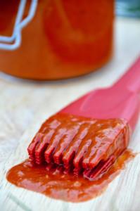 Rezept für Mango-BBQ-Sauce mit Whiskey