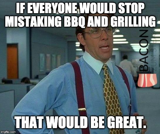 Der Unterschied zwischen Grillen und BBQ