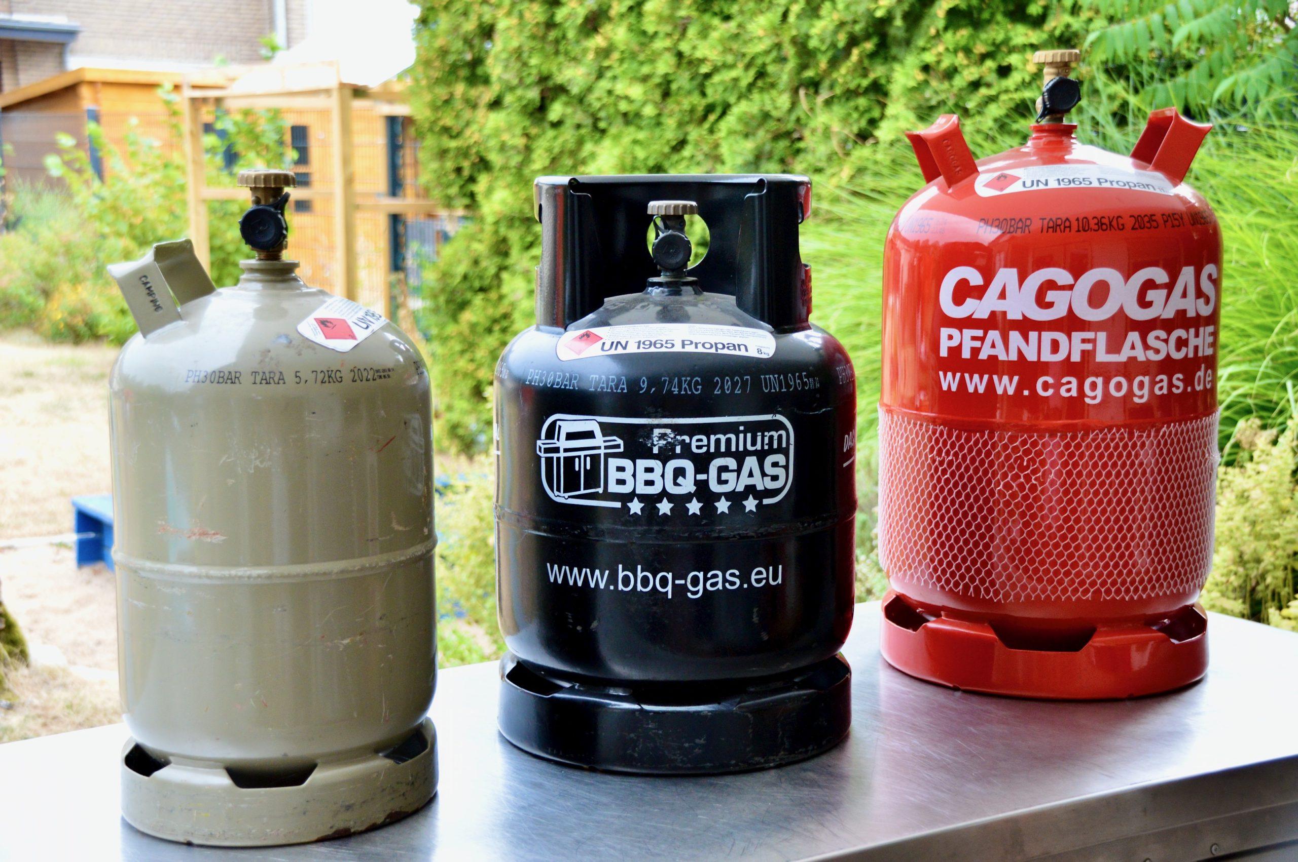 BBQ Gas - Vorteile der schwarzen Gasflaschen