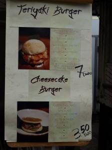 WAOYA Speisekarte Burger Clash