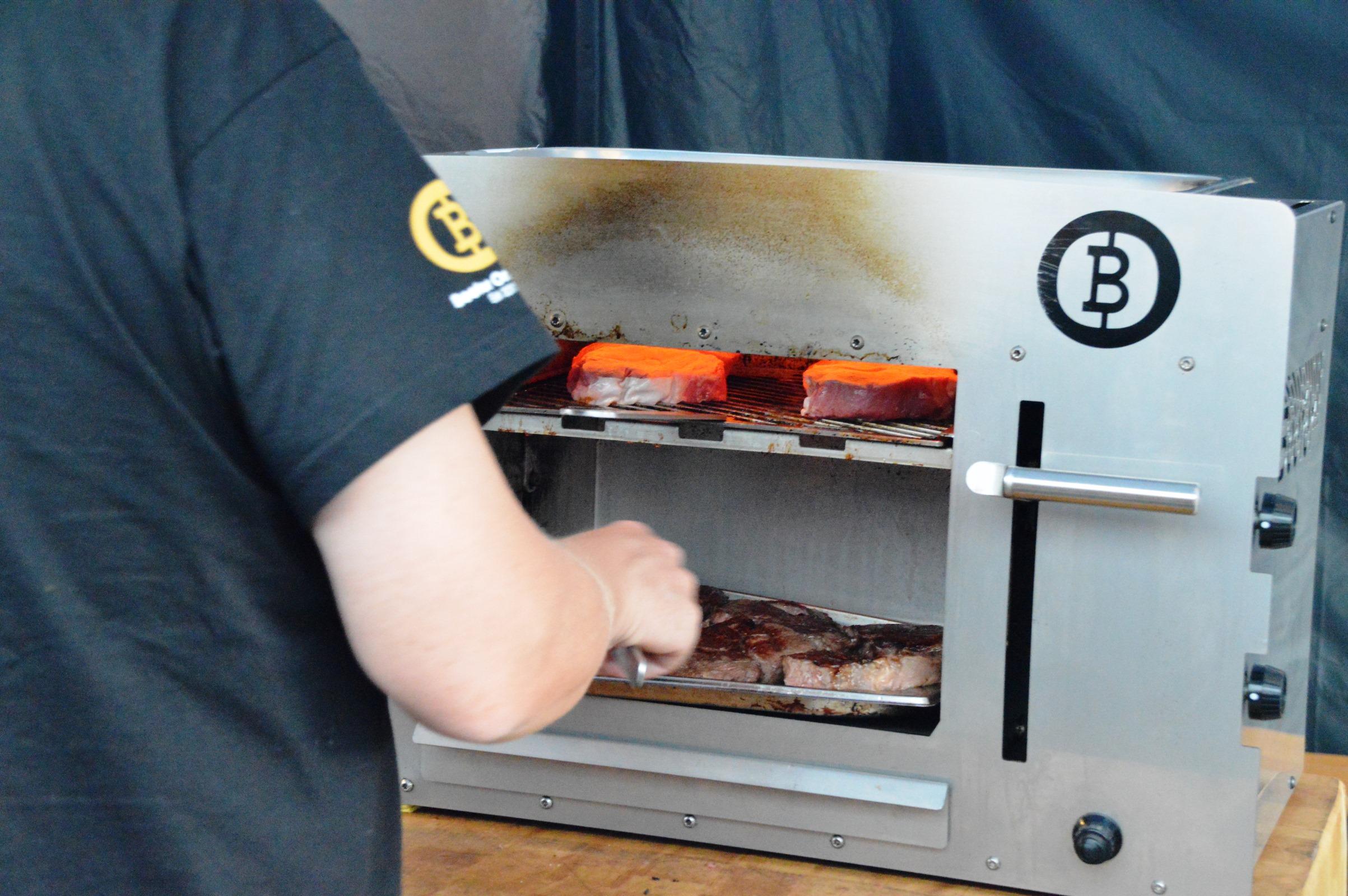 Landmann Gasgrill Otto : Otto gourmet meat master class party bacon zum steak