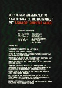 """Tabasco """"Thrill Your Food""""-Rezepte der kitchen guerilla"""