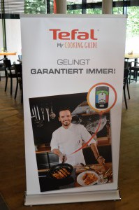 Tefal My Cooking Guide - Hensslers Küche Bloggerevent