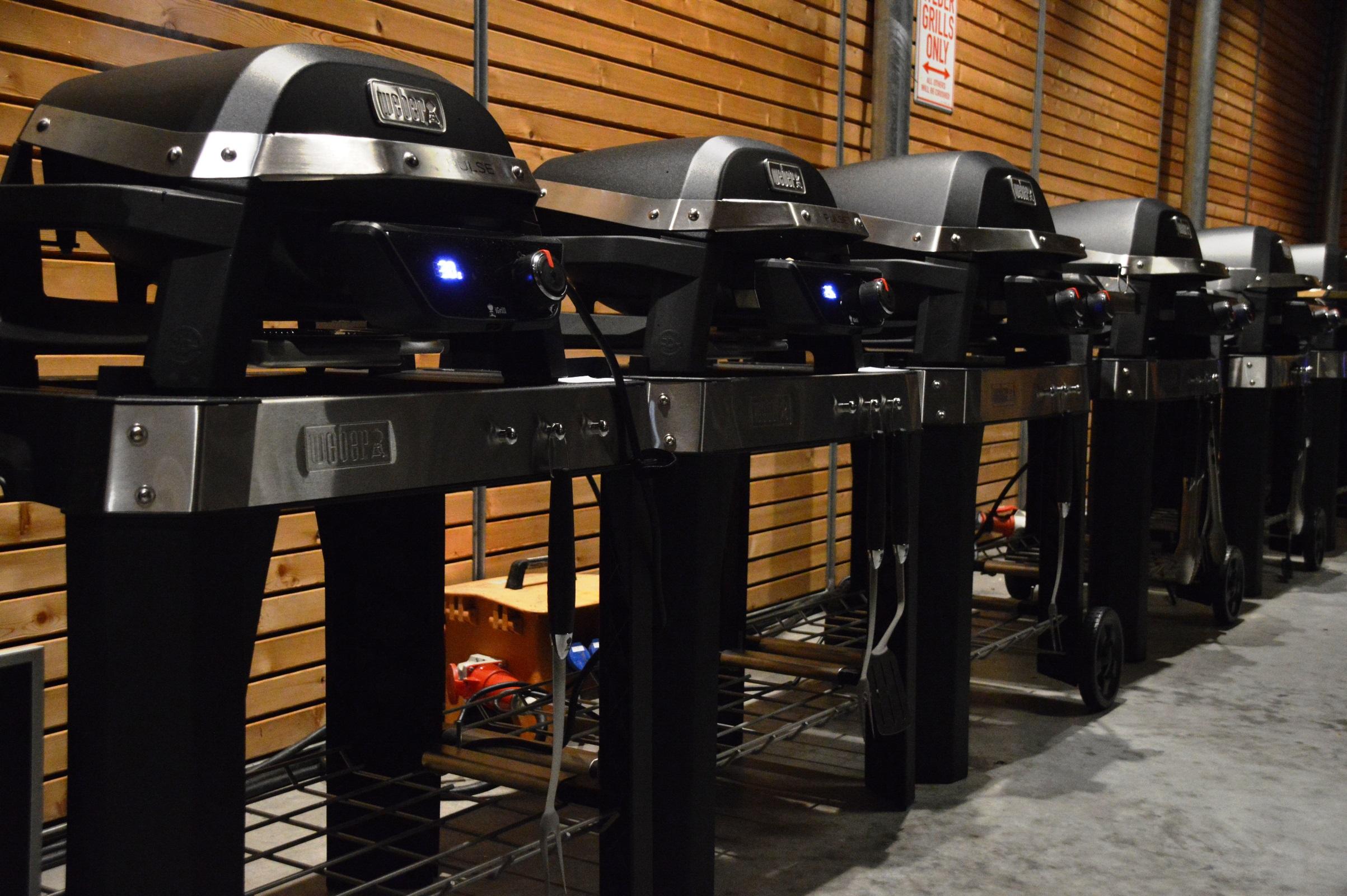 Weber Elektrogrill Temperatur : Vorstellung des weber pulse elektrogrills bacon zum steak