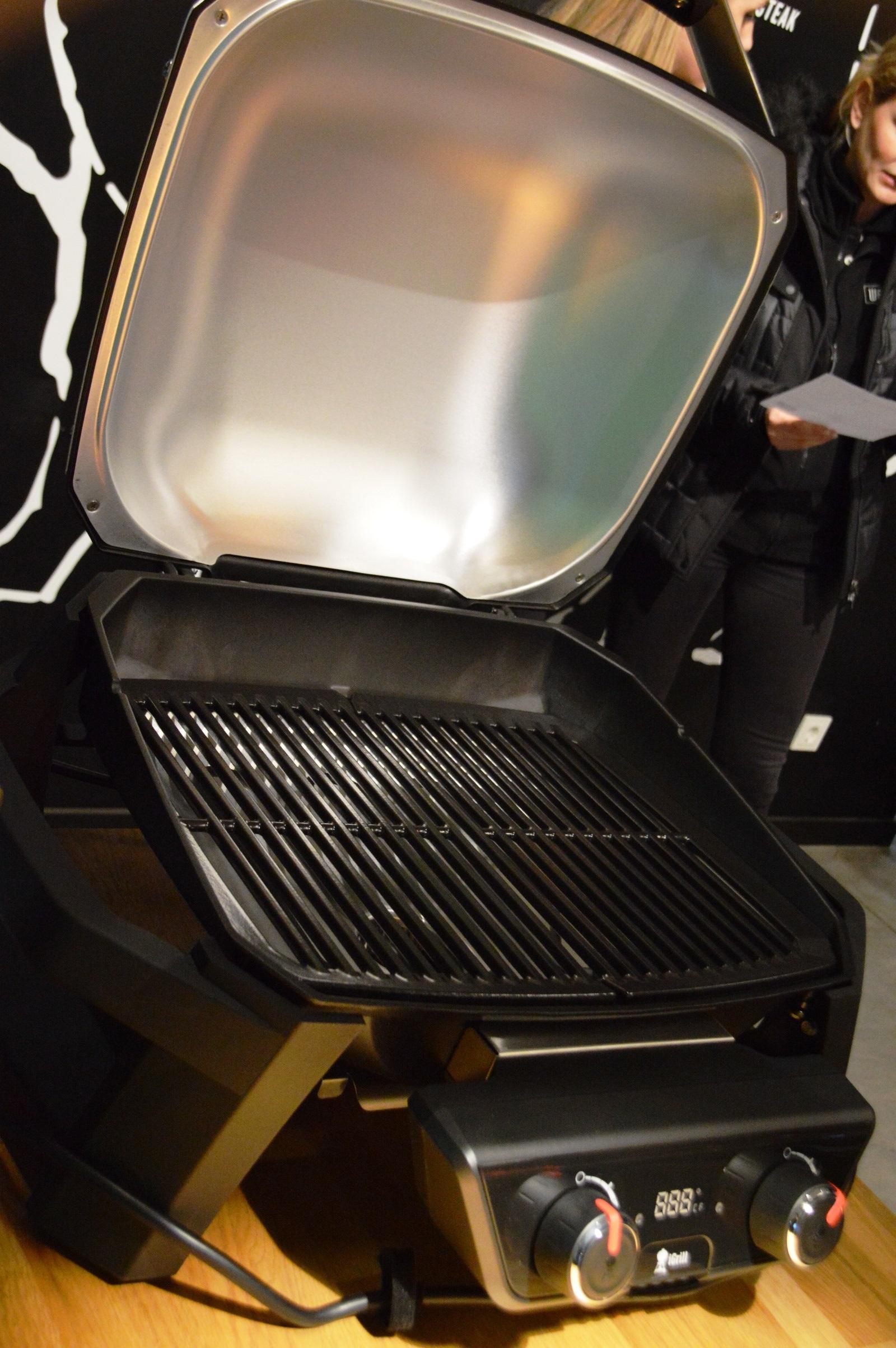 Vorstellung Des Weber Pulse Elektrogrills Bacon Zum Steak